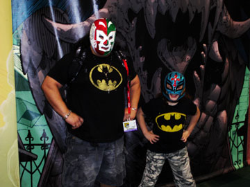 Mexican Wrestler Batman