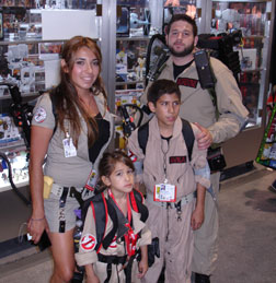 Family of Ghostbusters