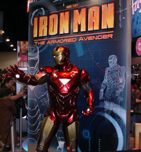 Ironman statue thing