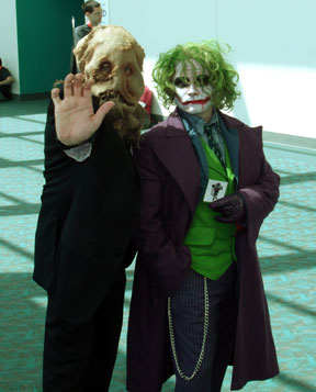 Joker and Scarecrow