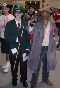 Riddler and Scarecrow